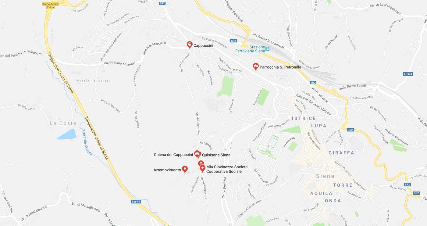 Siena vendesi Appartamento zona Cappuccini